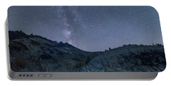 Milky Way At The Enchantments Portable Battery Charger