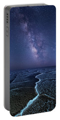 Milky Way At The Salt Flats Portable Battery Charger