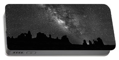 Milky Way At The Windows Portable Battery Charger