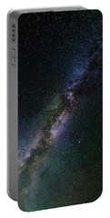Portable Battery Charger featuring the photograph Milky Way Core by Bryan Carter