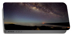 Milky Way From Mauna Kea Portable Battery Charger