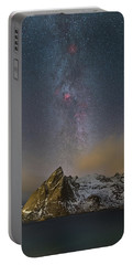 Milky Way In Lofoten Portable Battery Charger