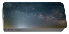 Milky Way Over Christ Pilot Me Hill Portable Battery Charger