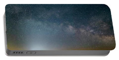 Milky Way Over Christ Pilot Me Hill Portable Battery Charger by Rob Graham