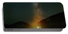 Milky Way Over Detroit Dam Portable Battery Charger
