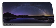 Milky Way Over Lonesome Lake Portable Battery Charger