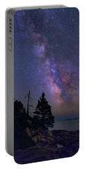 Milky Way Over Otter Point Portable Battery Charger