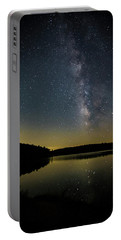 Milky Way Over Price Lake Portable Battery Charger