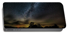 Milky Way Over The Blue Ridge Portable Battery Charger