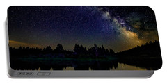 Milky Way Over The Deschutes River - 2 Portable Battery Charger