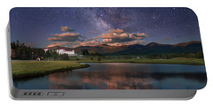 Milky Way Over The Omni Mount Washington Portable Battery Charger