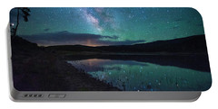 Milky Way Reflections Portable Battery Charger