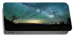 Milky Way Rising Portable Battery Charger