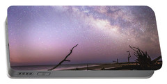 Milky Way Roots Portable Battery Charger by Robert Loe