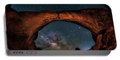 Milky Way Under The Arch Portable Battery Charger