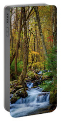 Mill Creek In Fall #1 Portable Battery Charger