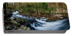 Mill Creek In Fall #2 Portable Battery Charger