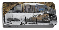 Mill Ruins Park Winter Portable Battery Charger