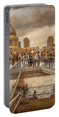 London, England - Millennium Bridge II Portable Battery Charger