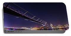 Millennium Bridge London  Portable Battery Charger