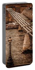 London, England - Millennium Bridge Portable Battery Charger