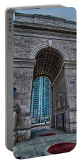 Millennium Gate Triumphal Arch At Atlantic Station In Midtown At Portable Battery Charger