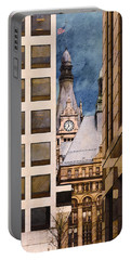 Milwaukee City Hall Portable Battery Charger