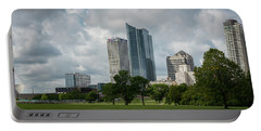 Milwaukee Skyline From Veterans Park 3 Portable Battery Charger