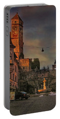 Portable Battery Charger featuring the photograph Main Square by Hanny Heim