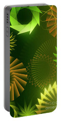 Mind Trips - Green As Canopy Portable Battery Charger
