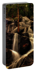 Quaking Aspen Falls Along Tioga Pass  Portable Battery Charger