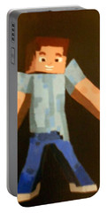 Minecraft Steve Portable Battery Charger