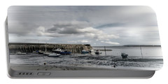 Minehead Harbour Somerset England Portable Battery Charger by Lynn Bolt