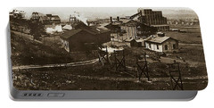 Mineral Springs Colliery Parsons Gravel Hill Scranton Patch Area Of Wilkes Barre Pa 1913 Portable Battery Charger
