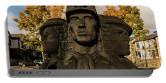 Miners In The Autumn Portable Battery Charger