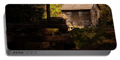 Portable Battery Charger featuring the photograph Mingus Mill 1 by Chris Flees