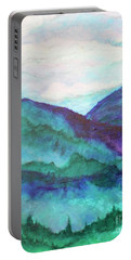 Mini Mountains Majesty Portable Battery Charger