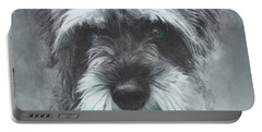Mini Schnauzer Portable Battery Charger