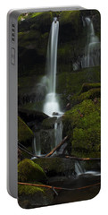 Mini Waterfall In The Forest Portable Battery Charger