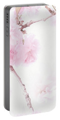 Minimalist Cherry Blossoms Portable Battery Charger