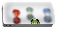 Minimalist Marbles #3 Portable Battery Charger