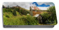 Mining Buildings In Silverton Portable Battery Charger