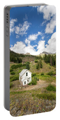 Mining Home On Ridge In Silverton Portable Battery Charger