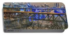 Minneapolis Bridges Portable Battery Charger by Craig Voth