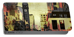 Minneapolis Clock Tower Portable Battery Charger