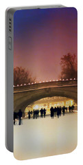 Minneapolis Loppet At Night Portable Battery Charger