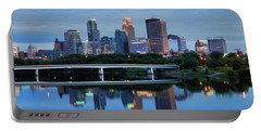 Minneapolis Reflections Portable Battery Charger by Rick Berk