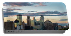 Minneapolis Skyline Sunset Portable Battery Charger