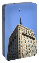 Portable Battery Charger featuring the photograph Minneapolis Tower 6 by Frank Romeo