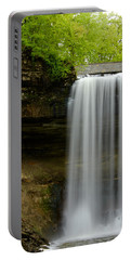 Minnehaha Falls Portable Battery Charger by Tiffany Erdman